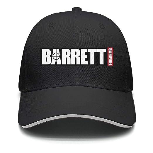 a2343f6a9d9 Mens Womens Outdoor Cap Baseball Fit Snapback-Barrett-Firearms-Gun-Golf Hat