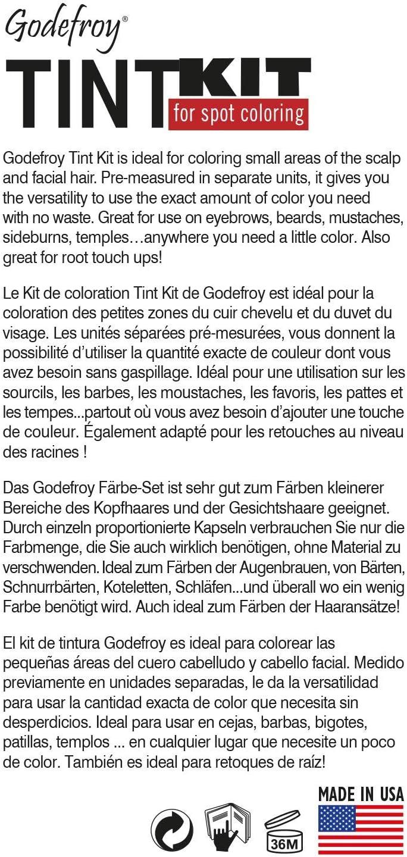 Godefroy - Kit de tinta, color marrón oscuro