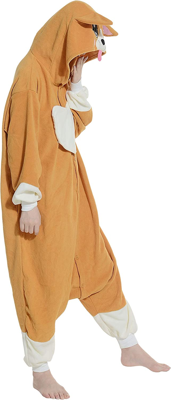 Pigiama Anime Cosplay Halloween Costume Attrezzatura Adulto Animale Onesie Unisex Gatto Nero per Altezze da 140 a 187 cm