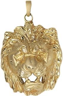 Uhren & Schmuck GroßZüGig Anhänger Gold 18 Karat Horoskop Leo
