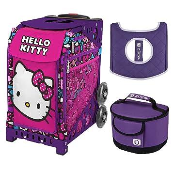 Amazon.com: ZUCA lazo hello kitty fiesta bolsa deportiva y ...