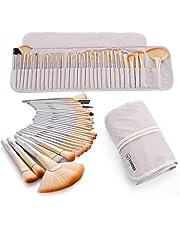 VANDER Make up Brushes 32Pcs Makeup Brush Set Foundation Eyeshadow Eyebrow Eyeliner Blush Powder Concealer Contour Cosmetic Synthetic Kabuki Make Up Brushes Kit