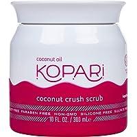 Kopari Coconut Crush Scrub - Brown Sugar Scrub to Exfoliate, Shrink the Appearance of Pores, Help Undo Dark & Age Spots…