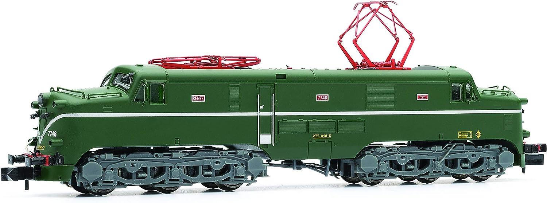 ARNOLD- Diesel 277.048 RENFE Locomotora Eléctrica, 126mm, Color Verde y Plata (Hornby HN2343)