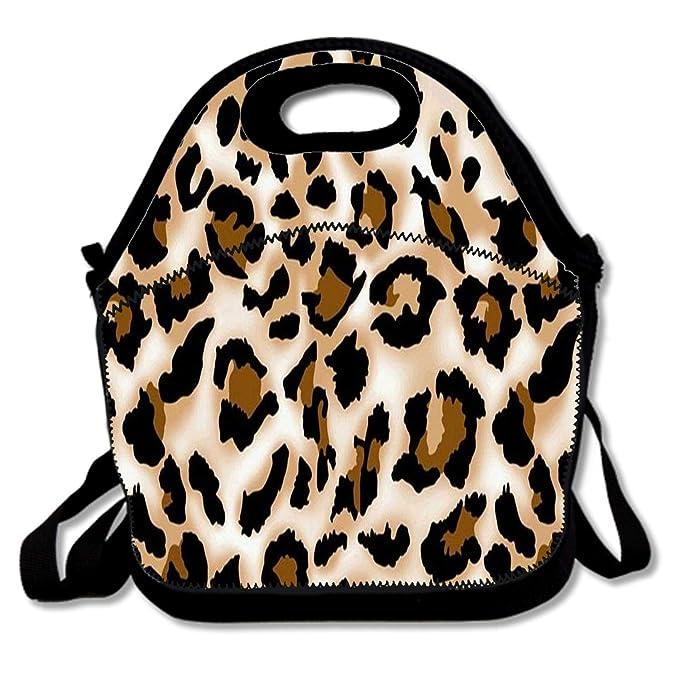 e5a35e82b540 Amazon.com: Cute Paw Print Insulated Lunch Bag Outdoor Picnic Tote ...