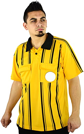 bd14067aaee Soccer Referee Jersey - for Soccer Referee Uniforms - By Mato   Hash at  Amazon Men s Clothing store