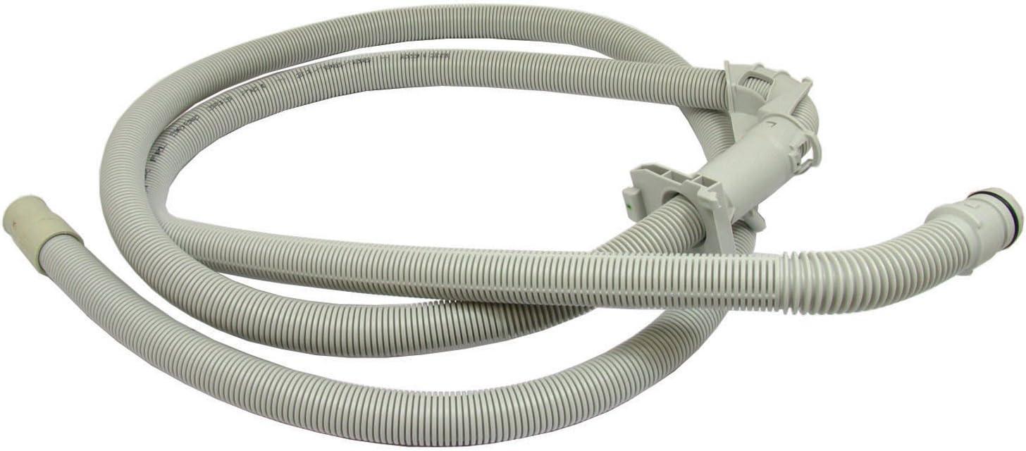 Bosch lavadora manguera de drenaje residuos tubo de salida: Amazon ...