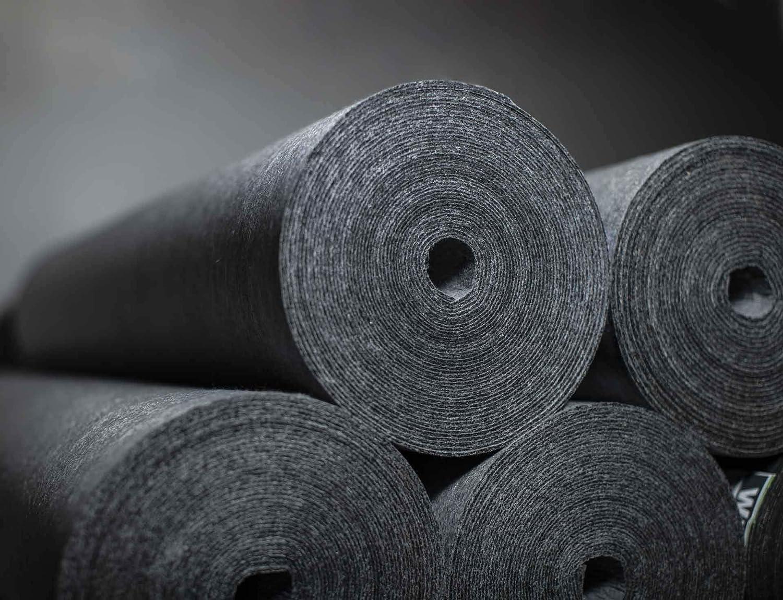 Trittschalld/ämmung f/ür Laminat 90/% Wiederverwertetes Material vinyl und Holzb/öden Nachhaltiger b/öden Unterlage 15 m/² 2 mm Unterlagsbahn