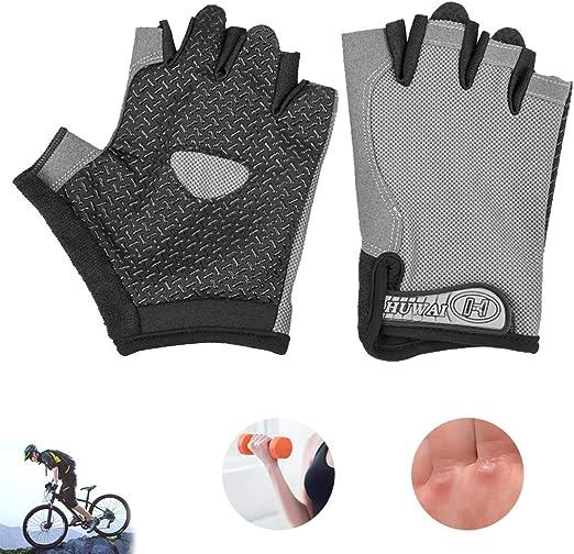 BLLJQ Guantes para Gym Guantes para Bicicleta Guantes Deportes (1 ...
