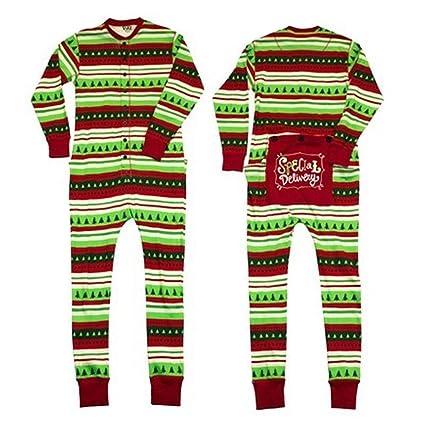 Navidad familia juego Pelele pijama pijamas conjuntos para regalo Xams Dad Talla:S