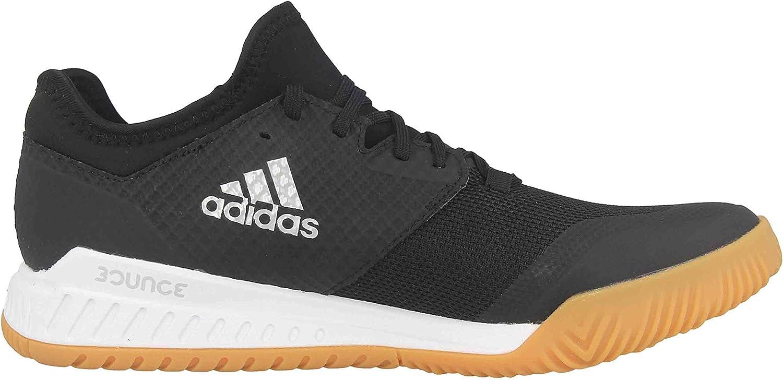 adidas Damen Court Team Bounce W Turnschuh Core Black Silver White Met Ftwr