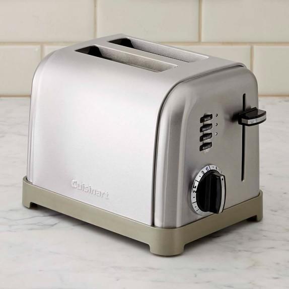 Cuisinart 2-Slice Metal Classic Toaster | Williams-Sonoma