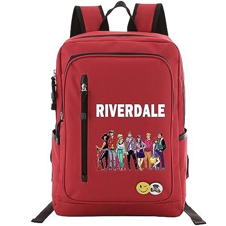 Amazon.com: Riverdale Backpack School Bags for Boys Girls, Lightweight Book Bag Multi-Functional Water-Resistant Casual Trekking Rucksack, Sports Daypack ...