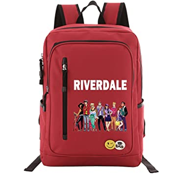 afdd741f4bc GinCuky Riverdale Backpack School Bags for Boys Girls, Lightweight Book Bag  Multi-Functional Water-Resistant Casual Trekking Rucksack, Sports Daypack  fits ...