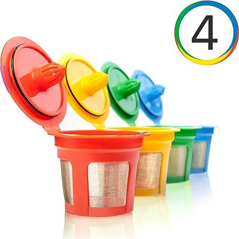 Amazon.com: Breworo K-Cup, filtros reutilizables para ...