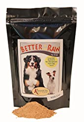 Make your own balanced RAW food dog at home - Better in the Raw for Dogs Dog Nutrition Supplement
