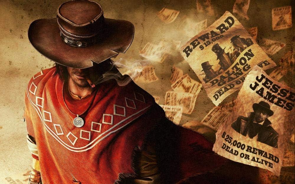 TOPJPG Puzzle Jigsaw 1000 Piezas Juarez Gunslinger Cowboy Juego Adulto Ocio Entretenimiento Niños Juguetes Educativos Adult Child Jigsaw Puzzle Gift