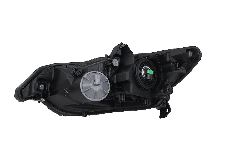 Genuine Honda Parts 33100-TM8-A01 Passenger Side Headlight Assembly Composite