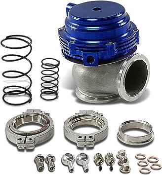 DNA Motoring WG-50-SL Silver 50mm External Turbo Manifold Wastegate