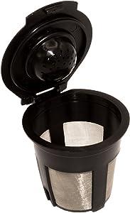 Blendin Single Reusable Refillable Coffee Filter Pod,Compatible with Keurig B40, B41, B44, B45, B50, B60, B65, B70, B75, B77, B79, K10, K40, K45, K60, K65, K70, K75, K77, K79 (1 Pack)