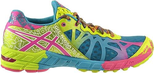 Pareja Persistente Clínica  Asics Gel-Noosa Tri 9 Women's Shoes Capri Blue/Raspberry/Lime t458n-5721 (8  B(M) US): Amazon.co.uk: Shoes & Bags