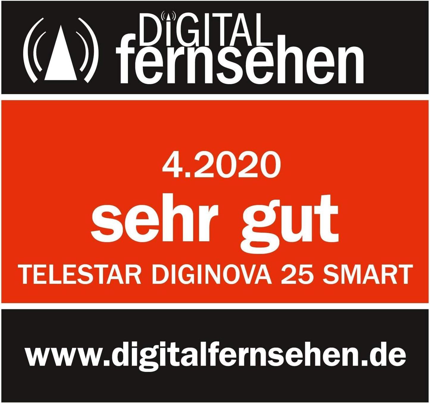 Telestar Diginova 25 Smart Hd Receiver Black Elektronik