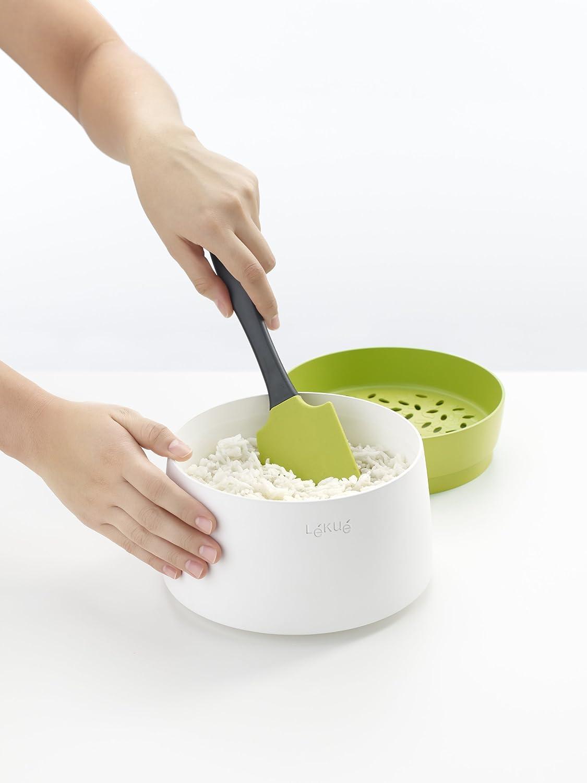 Lekue Microwave Rice and Grain Cooker Model # 0200700V06M500 Green