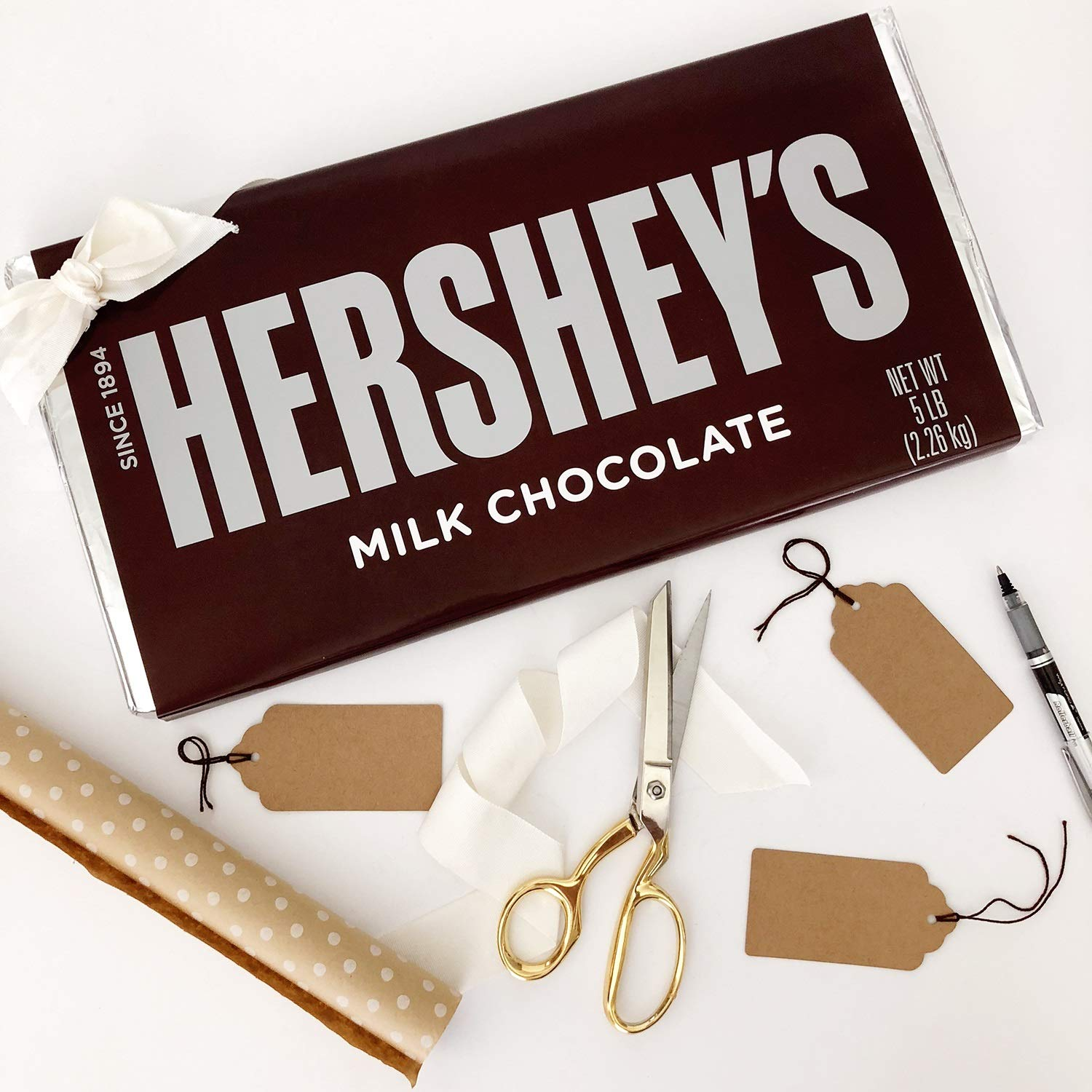 HERSHEY'S 5 Pound Chocolate Candy Bar Gift by HERSHEY'S (Image #6)
