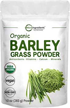 Micro Ingredients Pure USDA Organic Barley Grass Powder