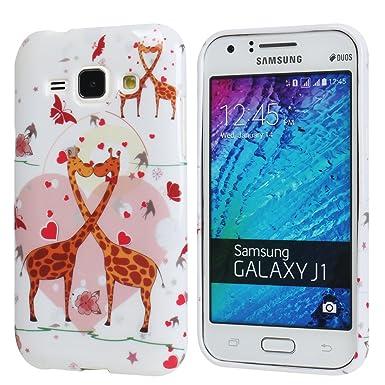 Hunye TPU Gel Skin – Carcasa blanda de Gel para Samsung Galaxy J1 Funda protectora