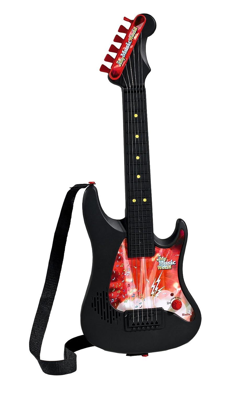 My Music World Gitarre mit Standmikrofon 70-130 cm Musik & Instrumente Simba 106833223