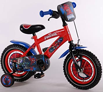 Spiderman Calidad bicicleta de 12 pulgadas bicicleta infantil ...