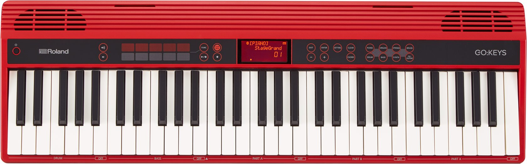Roland GO:KEYS 61-key Music, Creation Keyboard with Integrated Bluetooth Speakers (GO-61K) by Roland