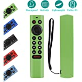 Protective Silicone Remote Cover for NVIDIA Shield TV Pro/4K HDR Remote Controller Washable Anti-Lost Remote Case with…