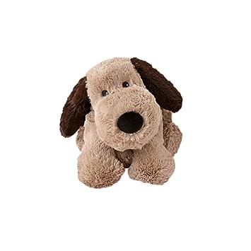 Warmies - Peluche térmico Perro, extraíble, Color marrón (T-Tex 34)