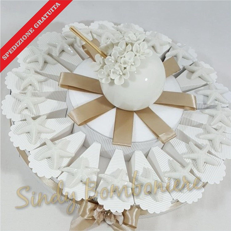 Gastgeschenk-Kommunion Konfirmation Kuchen Seestern Versand inklusive Geburtstag Torta Torta Torta da 35 fette 44a05a