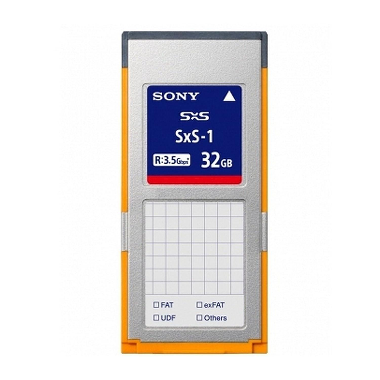 Sony sbs32g1b | sxs-1 G1B 32 GB Tarjeta de Memoria: Amazon.es ...