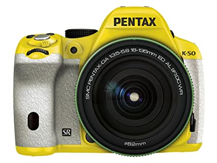 Ricoh Digital SLR Pentax K de 50 DA18 - 135 mmwr Kit de Lente ...