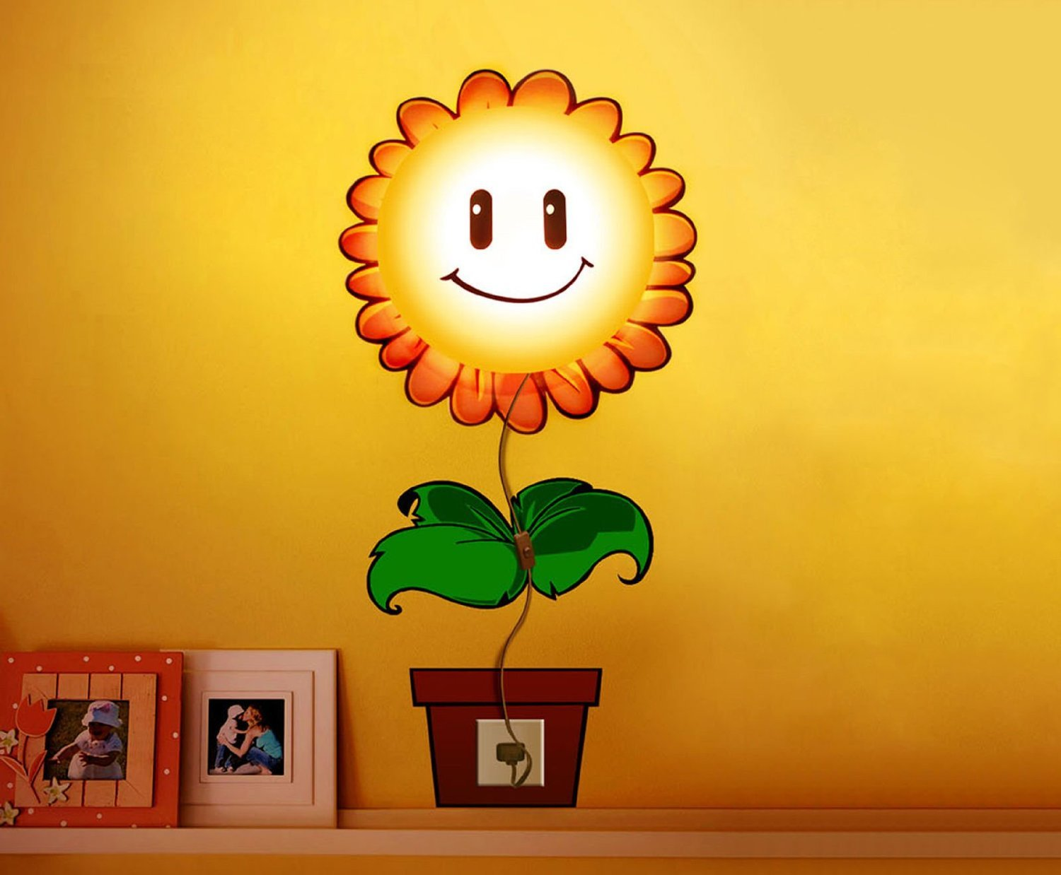 Amazon.com: BESTOPE Sun Flower DIY 3D Home Room Decor Wallpaper Wall ...