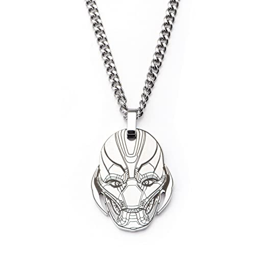 Marvel avengers age of ultron ultron head lazer etched pendant marvel avengers age of ultron ultron head lazer etched pendant necklace aloadofball Images