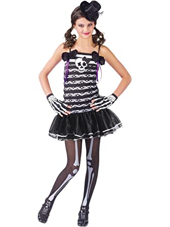 Amazoncom Skeleton Sweetie Teen Costume Junior Toys Games