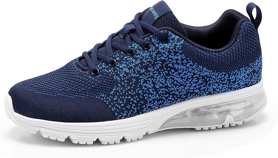 Goalsse Zapatillas Deportivas Hombre Mujer Zapatillas de Running Casual Calzado Transpirables Zapatillas Fitness Sneakers (41 EU, Azul): Amazon.es: Zapatos y complementos