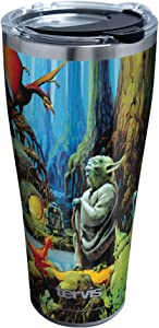 Tervis Star Wars - Empire 40th Yoda Insulated Tumbler, 20oz, Stainless Steel