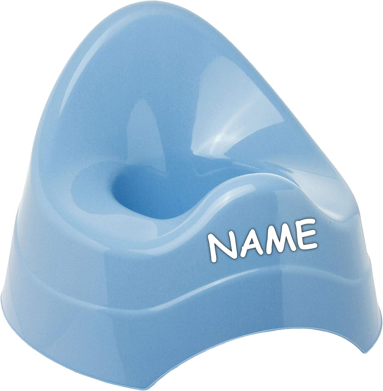 mit gro/ßer Lehne Name Toilettentrainer gr.. alles-meine.de GmbH T/öpfchen // Nachttopf // Babytopf Bieco Babyt/öpfchen // Kindertopf // Lernt/öpfchen blau inkl Spritzschutz