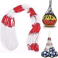 Baldrager Net Balnet Opbergtas Voetbal Draagtas Grote Volleybal Mesh-Opslag Multifunctionele Netzak voor Bal Draagbare…