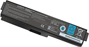 12 Cell PA3819U-1BRS PA3817U-1BRS Laptop Battery for Toshiba Satellite A665 C655 L675 M645 L655 C655D P755-S5390 P755-S5269 A665-S6050 A665-S6086 L755-S5167 L755-S5151 L755-S5170-12 Month Warranty