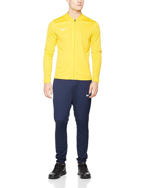 Dettagli su Nike Academy Knit Tuta da calcio XL, Oro (University GoldObsidianBianco)