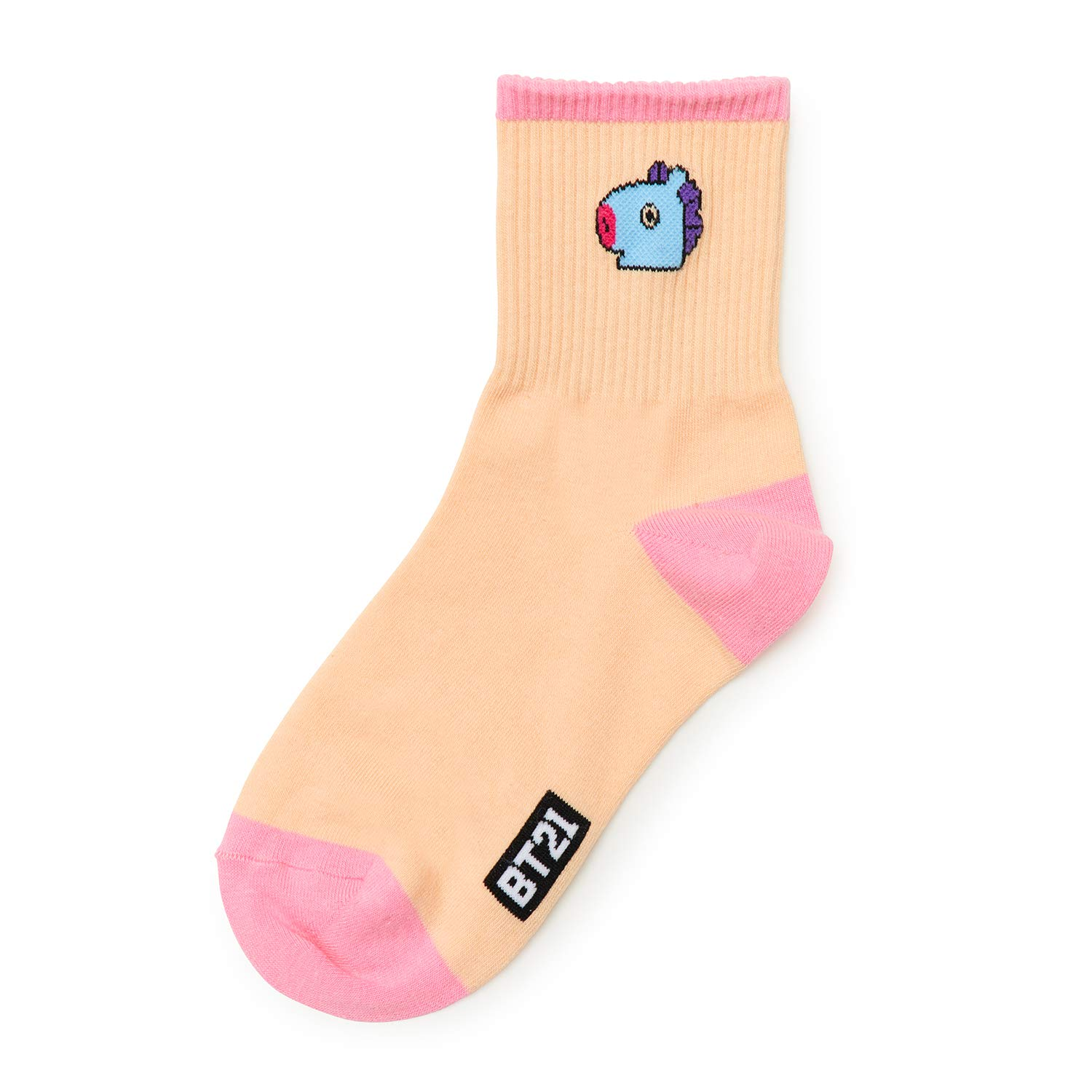 BT21 Official BTS Merchandise by Line Friends - MANG 2-Packs Cute Cotton Socks for Women (Designed by Bangtan Boys) by BT21 (Image #3)