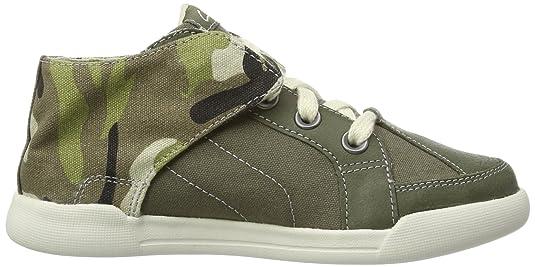 Clarks Kintor Boy 203578427 - Zapatos para unisex-adulto, color verde, talla 39