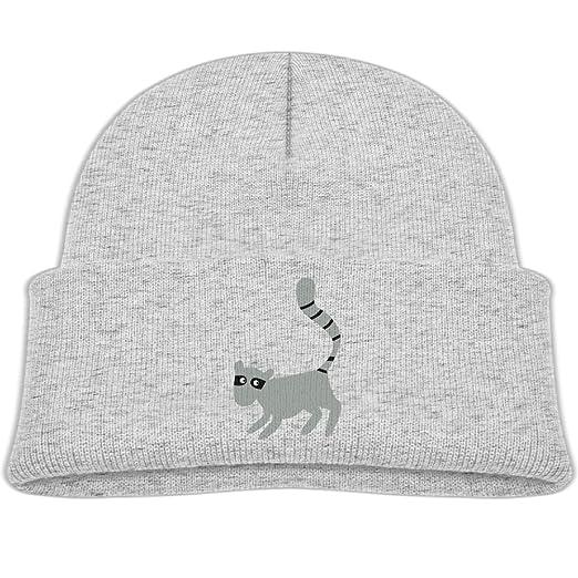 b2c3c0041 Amazon.com: Qiop nee Baby Beanie Hats Soft Knit Cap Gram Gray Black ...